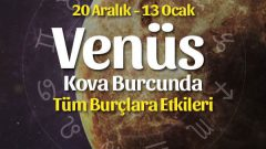 Venüs Kova Burcunda Burçlara Etkileri 20 Aralık – 13 Ocak