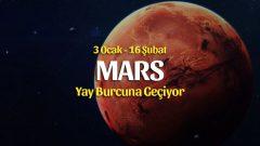 Mars Yay Transiti Burçlara Etkileri – 3 Ocak 2020
