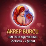 Akrep Burcu Haftalık Aşk Yorumu 27 Ocak - 2 Şubat