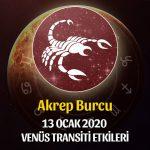 Akrep Venüs Transiti Etkileri - 13 Ocak 2020