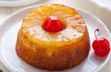 Ananaslı Mini Kek