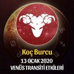 Koç Venüs Transiti Etkileri - 13 Ocak 2020