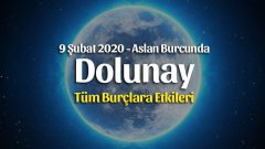 Dolunay Aslan Burcunda 9 Şubat 2020 Burçlara Etkileri
