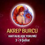 Akrep Burcu Haftalık Aşk Yorumu 3 - 9 Şubat