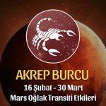 Akrep Burcu Mars Oğlak Transiti Etkileri