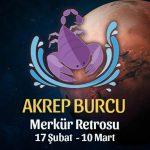 Akrep Burcu Merkür Retrosu Etkileri 17 Şubat - 10 Mart 2020
