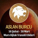 Aslan Burcu Mars Oğlak Transiti Etkileri