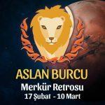 Aslan Burcu Merkür Retrosu Etkileri 17 Şubat - 10 Mart 2020