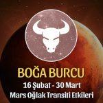 Boğa Burcu Mars Oğlak Transiti Etkileri