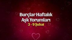 Burçlar Haftalık Aşk Yorumları 3 – 9 Şubat