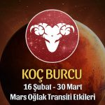 Koç Burcu Mars Oğlak Transiti Etkileri