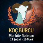 Koç Burcu Merkür Retrosu Etkileri 17 Şubat - 10 Mart 2020