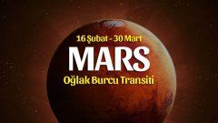 Mars Oğlak Transiti Burçlara Etkileri – 16 Şubat 2020