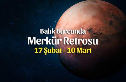Merkür Retrosu Burçlara Etkileri 17 Şubat – 10 Mart 2020