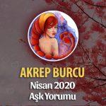 Akrep Burcu Nisan 2020 Aylık Aşk Yorumu