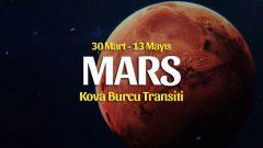 Mars Kova Transiti Burçlara Etkileri –  30 Mart 2020