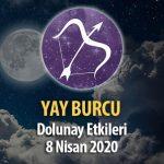 Yay Burcu Dolunay Etkileri - 8 Nisan 2020