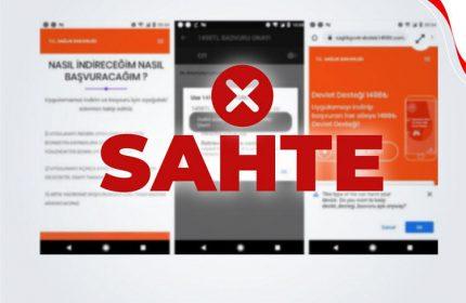 Sağlık Bakanlığı sahte internet siteleri ve uygulamaları açıkladı