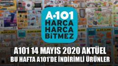 A101 Aktüel Ürünler Kataloğu 14 Mayıs 2020
