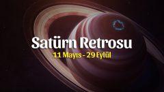 Kova Burcunda Satürn Retrosu Burçlara Etkileri 11 Mayıs – 29 Eylül 2020
