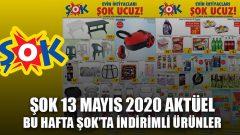 Şok Aktüel Ürünler Kataloğu 13 Mayıs 2020