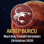 Akrep Burcu Mars Transiti Burç Yorumları