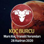 Koç Burcu Mars Transiti Burç Yorumları