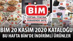 BİM 20 Kasım 2020 Aktüel Ürünler Kataloğu