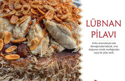Kıymalı Tavuklu Lübnan Pilavı