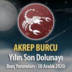 Akrep Burcu - Dolunay Burç Yorumları 30 Aralık 2020