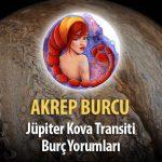 Akrep Burcu - Jüpiter Kova Transiti Yorumu