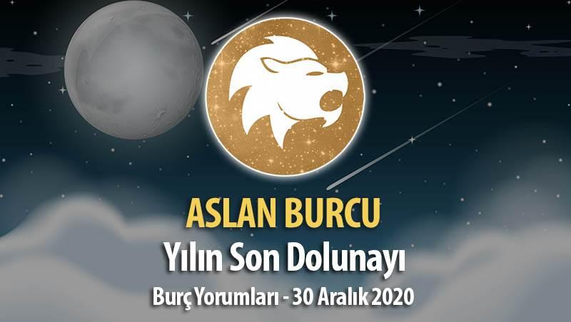 Aslan Burcu - Dolunay Burç Yorumları 30 Aralık 2020