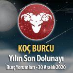 Koç Burcu - Dolunay Burç Yorumları 30 Aralık 2020
