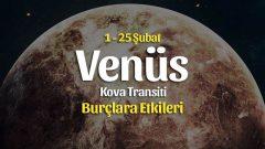 Venüs Kova Transiti Burç Yorumları – 1 Şubat 2021