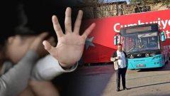 Halk otobüsünde iğrenç olay! Şoför, kadın yolcusunu taciz edip 100 lira teklif etti