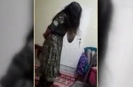 Gelin Zulümünde Yeni Görüntüler! Biri Dövdü, Diğeri Oynadı