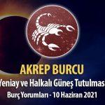 Akrep Burcu - Halkalı Güneş Tutulması ve Yeniay Yorumu