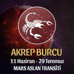 Akrep Burcu - Mars Aslan Transiti Yorumu