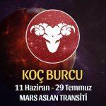 Koç Burcu - Mars Aslan Transiti Yorumu