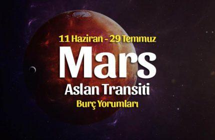 Mars Aslan Burcunda Burç Yorumları – 11 Haziran 2021