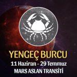 Yengeç Burcu - Mars Aslan Transiti Yorumu