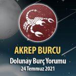 Akrep Burcu - Dolunay Burç Yorumu 24 Temmuz 2021