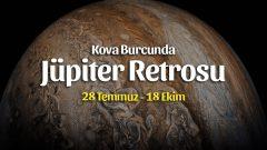 Jüpiter Kova Burcunda Retro | 28 Temmuz 2021