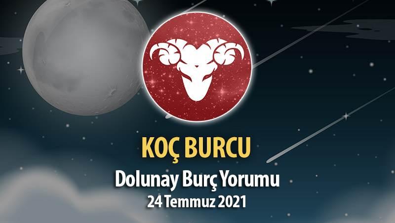 Koç Burcu - Dolunay Burç Yorumu 24 Temmuz 2021