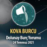 Kova Burcu - Dolunay Burç Yorumu 24 Temmuz 2021