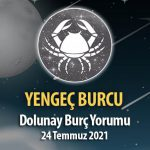 Yengeç Burcu - Dolunay Burç Yorumu 24 Temmuz 2021