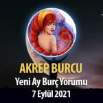Akrep Burcu Yeni Ay Yorumu - 7 Eylül 2021