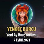 Yengeç Burcu Yeni Ay Yorumu - 7 Eylül 2021